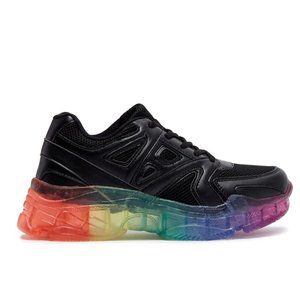 NWT 90s Chunky Rainbow Sole Dad Sneakers